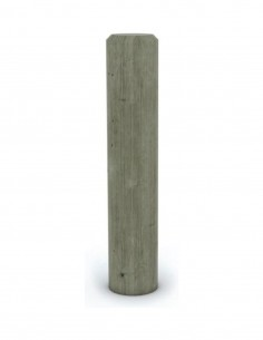 Borne ronde bois fixe