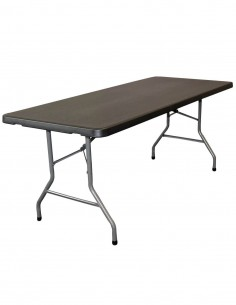 Plastique Collectivités Vedif Table Pliante Polypropylène WE9IH2DY