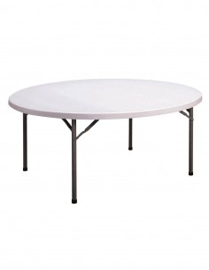 Table Polyet ronde 180