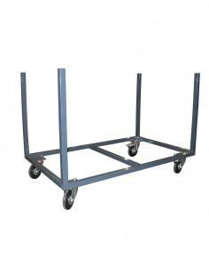 Chariot tables avec rehausses