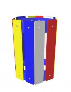 Corbeille Multicolore 50 L