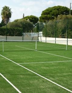 Poteaux de tennis acier
