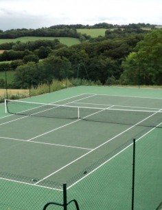 Poteaux de tennis alu