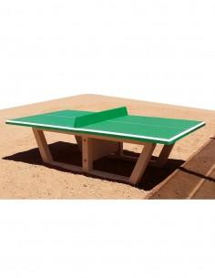 Table ping-pong béton