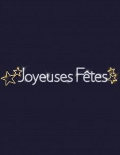 Joyeuses fêtes étoilées